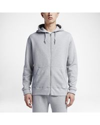 4850015946b9 Lyst - Converse Essentials Sportswear Full-zip Men s Hoodie in Gray ...