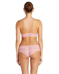 Cosabella - Pink Sweet Treatstm Zebra Hotpant - Lyst