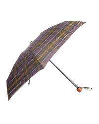 Barbour - Multicolor Tartan Ladies Handbag Umbrella - Lyst