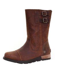 Sorel | Brown Major Pull On Ladies Boot | Lyst