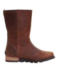 Sorel - Brown Major Pull On Ladies Boot - Lyst