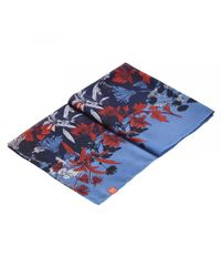 Joules | Blue Wensley Longline Printed Womens Scarf (x) | Lyst