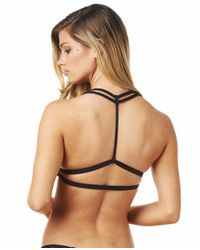 Montce Swim - Black Braided Bikini T-top - Lyst