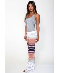 Goddis - Multicolor Holt Knit Pant In Star Gazer - Lyst