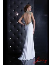 Jasz Couture - Dress In White - Lyst