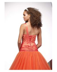 Alyce Paris - 9063 Dress In Orange - Lyst