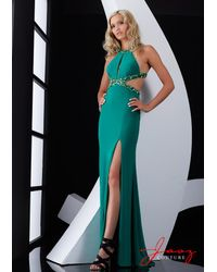 Jasz Couture | Green Dress In Emerald | Lyst