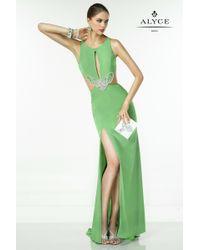Alyce Paris | Green B'dazzle - Dress In Mint Leaf | Lyst