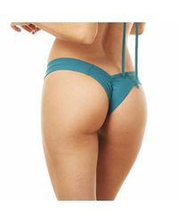 Montce Swim | Blue Emerald Meija Solo Top X Uno Bottom Bikini | Lyst