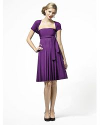 Dessy Collection | Purple Lbtwist Dress In African Violet | Lyst