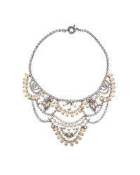 Elizabeth Cole - Multicolor Stephanie Necklace Lavender - Lyst