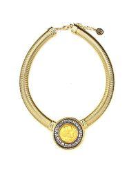 Ben-Amun   Metallic Roman Coin Gold Cobra Chain Necklace   Lyst