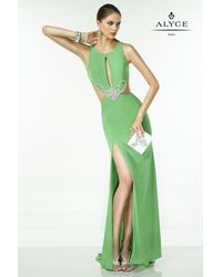Alyce Paris - Green B'dazzle - Dress In Mint Leaf - Lyst