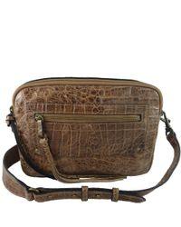 Treesje | Brown Lidia Large Camera Bag In Hazelnut | Lyst