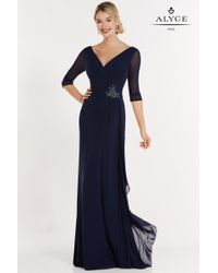 Alyce Paris | Blue Special Occasion Collection - Dress | Lyst