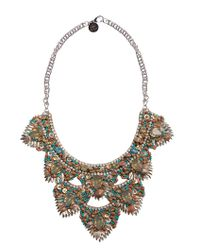 Deepa Gurnani - Black Rizka Necklace - Lyst
