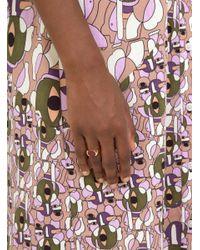 Helena Rohner - Multicolor Oval Cornelian Signet Ring - Lyst