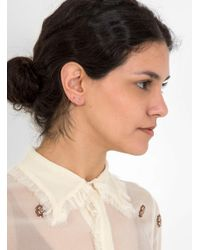 Maria Black - Multicolor Lila Blanc Twirl Earring Right - Lyst