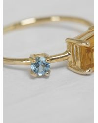 Michelle Oh - Multicolor Ship Shape Ring - Lyst