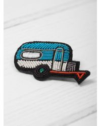 Macon & Lesquoy - Multicolor Trailer Brooch - Lyst