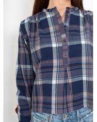 SIDELINE - Blue Holly Shirt - Lyst