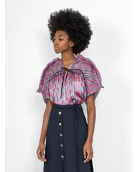 Rachel Comey - Purple Shatter Top - Lyst