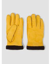 Hestra - Multicolor Deerskin Primaloft Rib Gloves for Men - Lyst