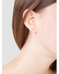 Wwake | Multicolor Mismatched Two Step Earrings | Lyst