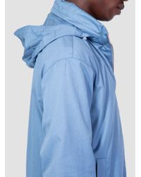 Norse Projects - Blue Pelle Melange Ripstop Windbreaker Light Indigo Melange for Men - Lyst