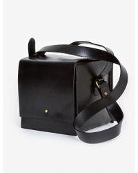 Creatures of Comfort - Black Box Bag Large - Lyst