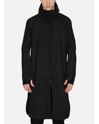 Boris Bidjan Saberi 11 - Black Raincoat for Men - Lyst