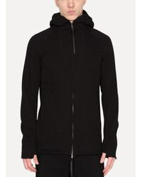 The Viridi-anne - Black Jersey Parka for Men - Lyst