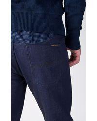 Nudie Jeans - Steady Eddie Dry Blue Faith 12.25oz for Men - Lyst