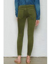 Current/Elliott - Green The Stiletto Skinny Jean - Lyst