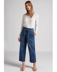 Current/Elliott | Blue The Chore Drawstring Pant | Lyst