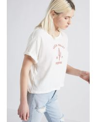 Current/Elliott - White The Sailor Tee - Lyst