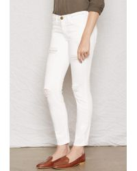 Current/Elliott - Natural The Stiletto Skinny Jean - Lyst
