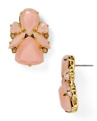 kate spade new york | Pink Color Pop Statement Stud Earrings | Lyst
