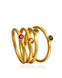 Gurhan - Green Fia Peridot Ring - Lyst