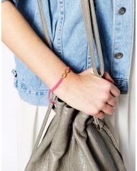 Ashiana - Neon Pink Infinity Bracelet - Lyst