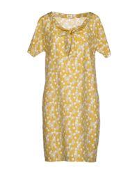 Siyu | Gray Short Dress | Lyst