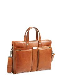 Ferrari | Brown 'elite' Laptop Case for Men | Lyst