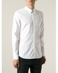 Givenchy - White Applique Detail Shirt for Men - Lyst