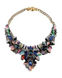 Shourouk   Blue Necklace   Lyst