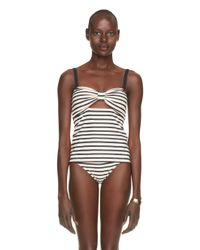 kate spade new york | Blue Nahant Shore Peep Hole Tankini | Lyst