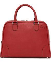 Loewe | Red Amazona 75 Extra-large Bag | Lyst