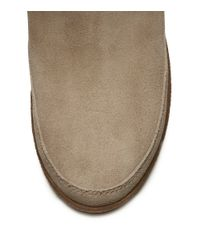 Tory Burch - Natural Loriner Shearling Bootie - Lyst