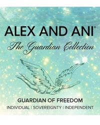 ALEX AND ANI | Metallic Guardian Of Freedom Expandable Wire Bracelet | Lyst