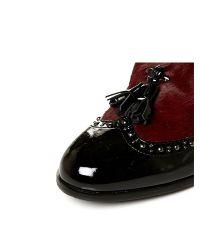 Moda In Pelle - Red Carletta Medium Smart Shoes - Lyst