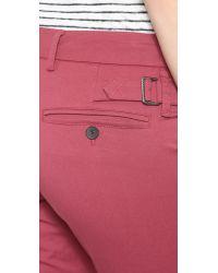 Vince - Pink Bermuda Shorts - Dark Indigo - Lyst